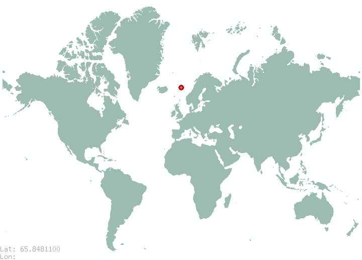 Tornio in world map